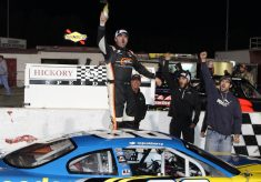 Josh Berry Victorious in Fall Brawl at Hickory