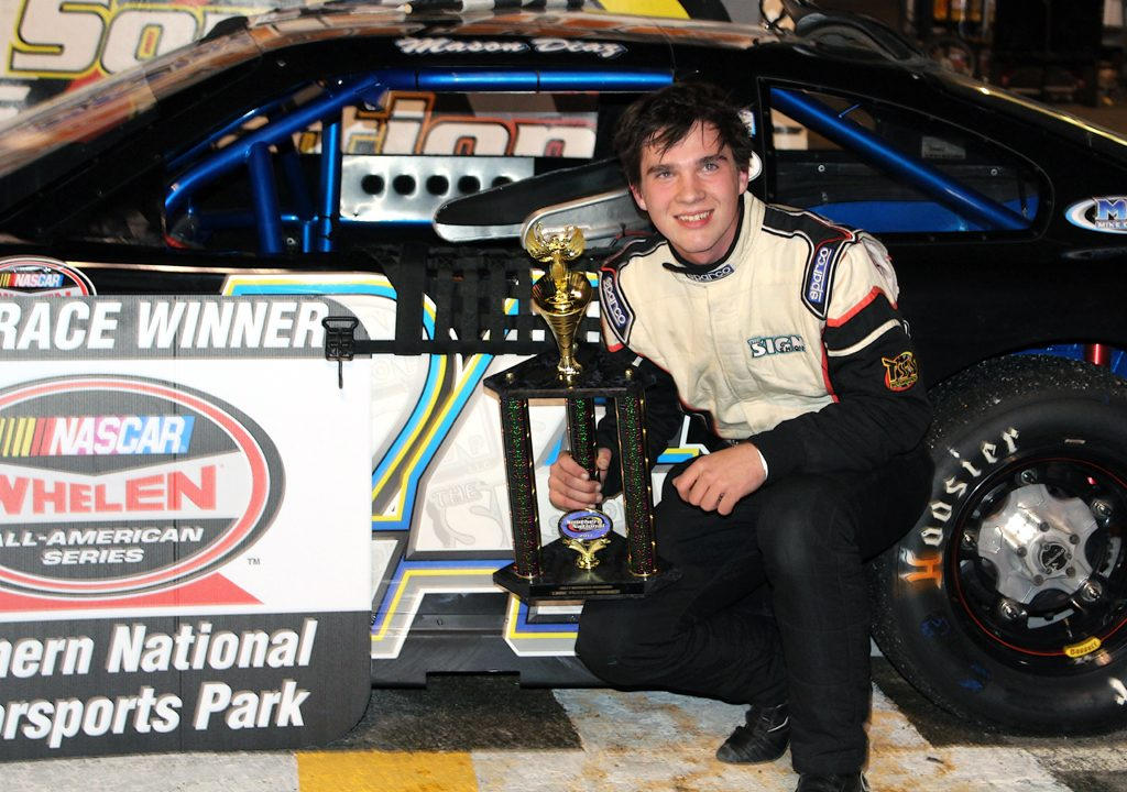 Mason Diaz Scores First Career Late Model Win at Southern National