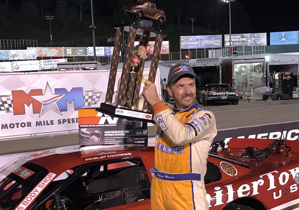 Morris Continues Domination at Motor Mile