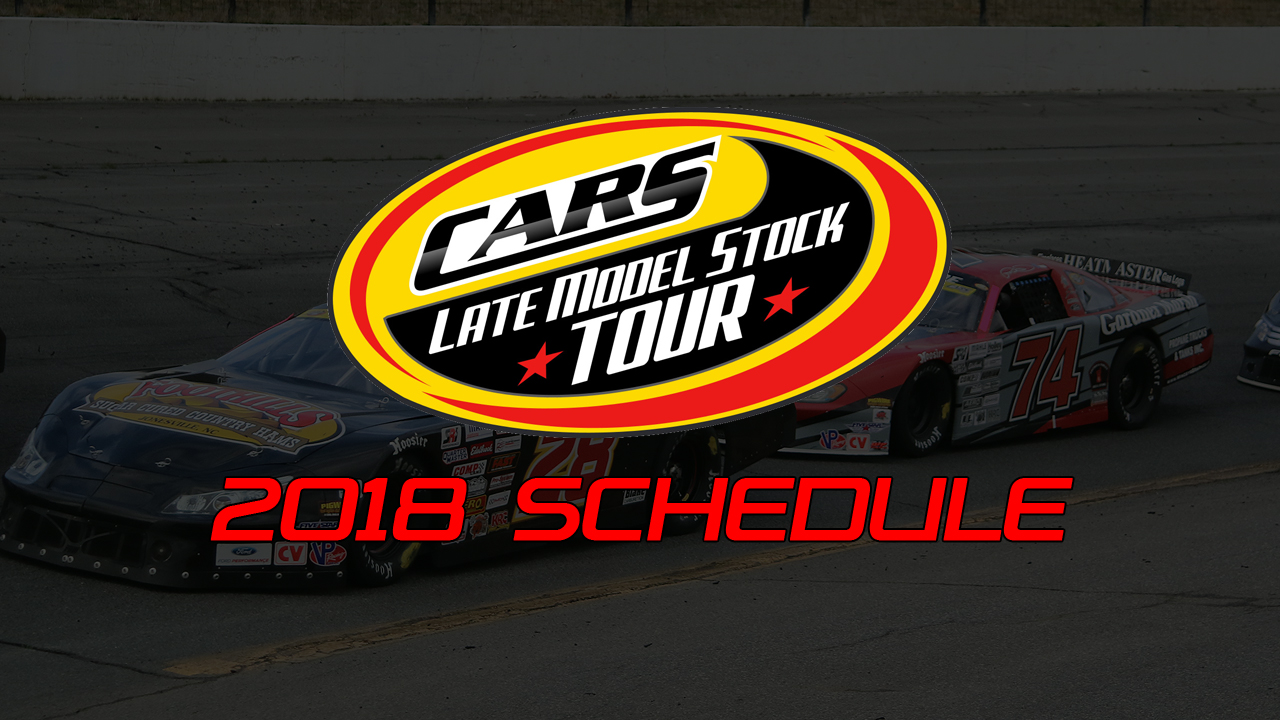 CARS Tour Unveils 2018 Schedule with New Tracks & Bigger Races ...