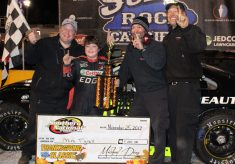 PR :: Mini Tyrrell Caps Big Weekend Off with Win in Thanksgiving Classic