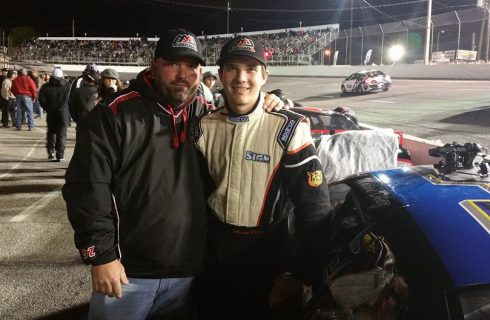 Mason Diaz Scores Top-10 Finish in First Snowflake 100 Attempt