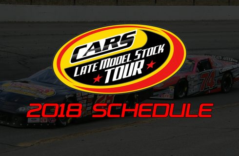 CARS Tour Unveils 2018 Schedule with New Tracks & Bigger Races