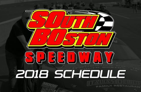 South Boston Speedway Releases 2018 Schedule