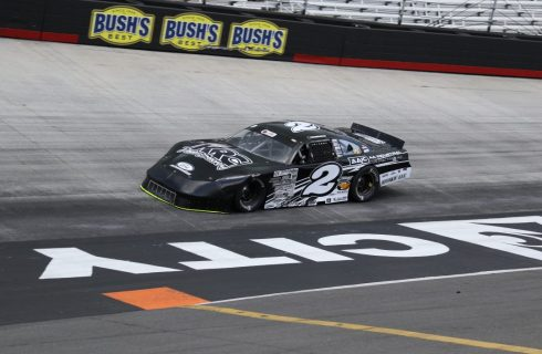 Haskins Rebounds to Score Top 10 Finish at Bristol