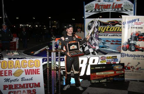 Berry Redeems Himself with Myrtle Beach 400 Victory