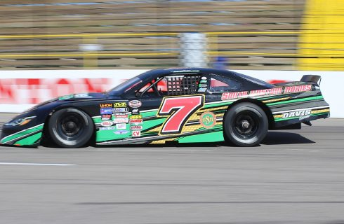 Brandon Clements Fastest in Solid Rock Carriers 150 Practice