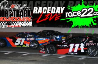 RACEDAY LIVE :: Denny Hamlin Short Track Showdown at Langley Speedway (Apr. 19th)