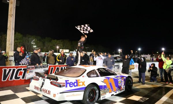 Denny Hamlin Wins His Charity Short Track Showdown
