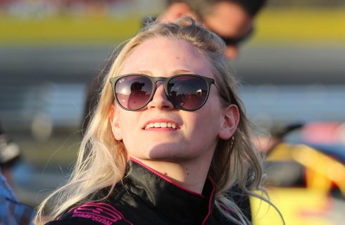 Pulliam Paving the Way for Female Drivers