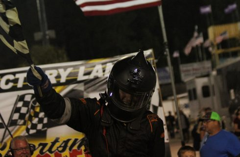 Layne Riggs Gets Redemption at Carteret County Speedway