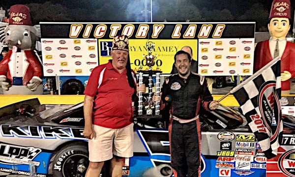 Pulliam, Roberts Split Wins in Shrine Race at Anderson