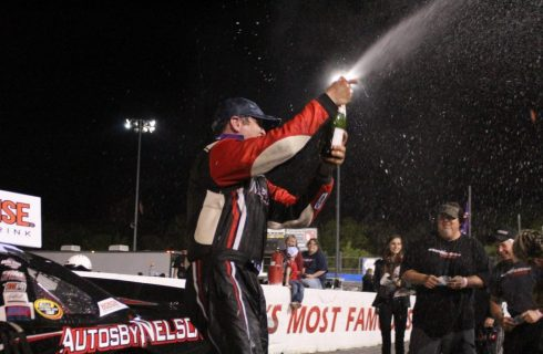 McCarty Brings Home CARS Tour Victory at Hickory
