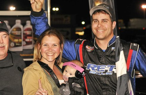 Yarbrough Capitalizes Late for Myrtle Beach Win