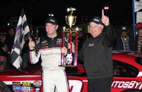 Peters Saves, Scores Victory in the Icebreaker at Myrtle Beach Speedway