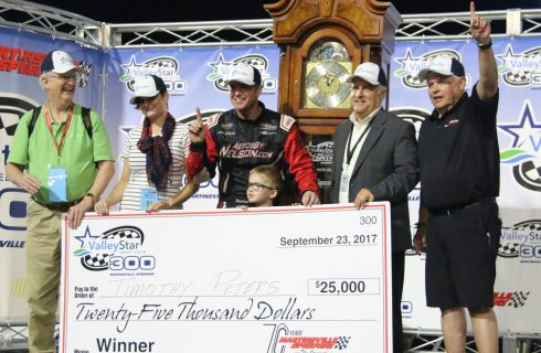 Peters Returns to Victory Lane at Martinsville